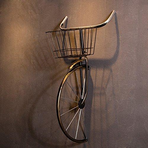 Tapicería Decorativa Bicicletas Industriales De Hierro De Viento Tienda De Ropa Retro Tienda De Té Creativo Colgante De Pared,Copper