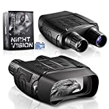 Night Vision Binoculars for Hunting in 100% Darkness - Digital Infrared Goggles for Viewing 984ft/300M in The Dark with 2.31' LCD Screen, Take Day or Night IR Photos & Video with 32G TF Card