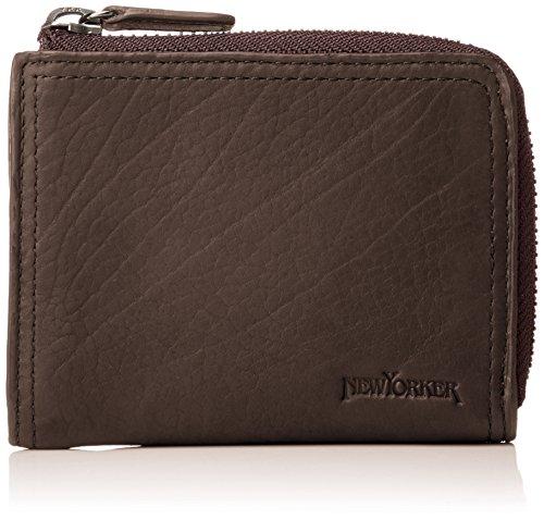 [ニューヨーカー アクセサリー] 財布 小銭入れ パスケース キーリング 付き マディソン NYK090 チョコ