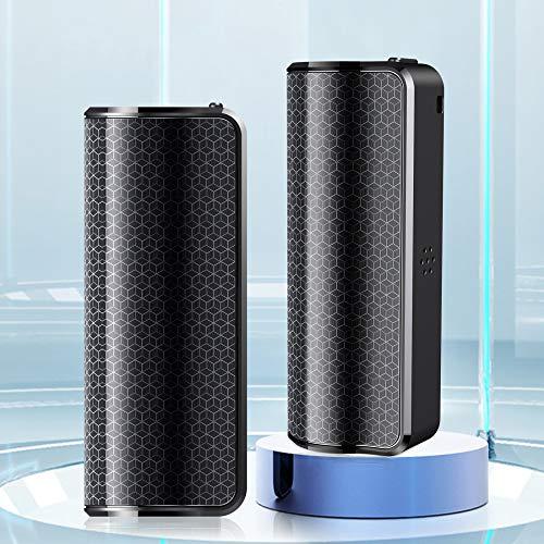 GJCrafts Grabadora de Voz, grabadora de Audio activada por Voz con Recargable, Mini grabadora de Voz Dispositivo de grabación de 16 GB con Reproductor de MP3, para conferencias, reuniones, Clases