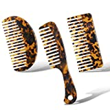 3 Pieces Hair Detangling Comb Wide Tooth Comb...