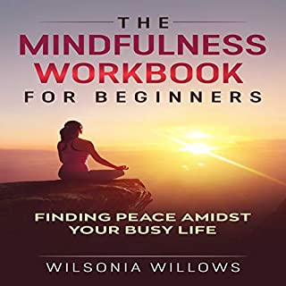 The Mindfulness Workbook for Beginners audiobook cover art