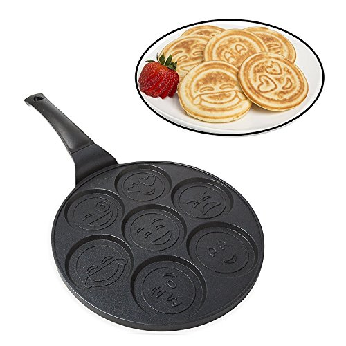 Emoji Smiley Face Pancake Pan