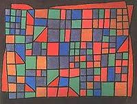 18 世界の名画 - ¥4K-150k 手書き-キャンバスの油絵 - アカデミックな画家直筆 - Glass Facade 抽象表現主義 AEM1 - 絵画 洋画 複製画 -サイズ03