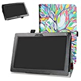 Digiland DL1023 10.1 Tablet Case,Digiland DL1016 10.1 Tablet Case,Bige PU Leather Folio 2-Folding Stand Cover for 10.1' Digiland DL1016 /DL1018A /DL1023 Tablet,Love Tree
