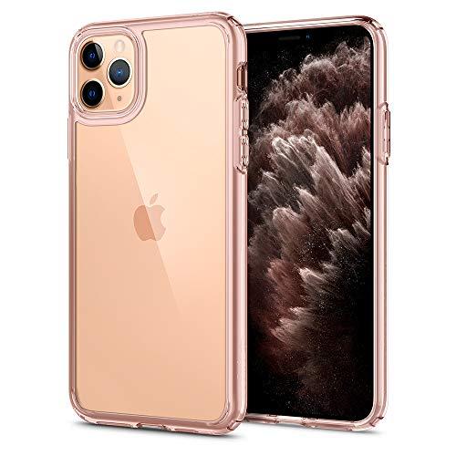 Spigen Ultra Hybrid Hülle Kompatibel mit iPhone 11 Pro -Rose Crystal