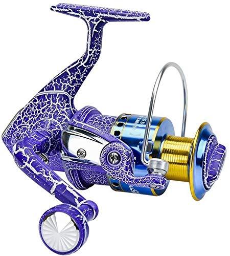 QAZWSX Carrete de Pesca, Carrete de Pesca de Metal Rueda de Spinning Polo de mar Carrete de Pesca Largo arrullo de Pesca de Pesca Carrete de Pesca,4000