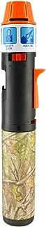 Camouflage Turbo Blue Torch Stick Multi-Purpose Refillable Butane Lighter, Wind Proof - Orange