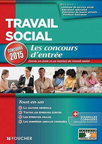 Travail social - Concours d'entrée 2015 - N°15