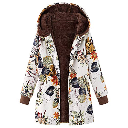 BOLANQ Damen Herbst Winter Outing Stil Frauen Warm Reißverschluss Öffnen Clubbing Dating Elegante Hoodies Sweatshirt Langen Mantel Jacke Tops Outwear Hoodie Outwear Kapuzenpullover(XXX-Large,Orange-A)