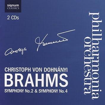 Brahms Symphony No. 2 & Symphony No. 4