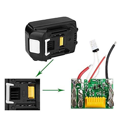 EsportsMJJ 18V 3.0Ah Lithium Battery Protection PCB Board voor Makita BL1840 BL1830 BL1830