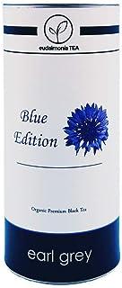 Earl Grey Bio - Blue Edition - eudaimonia TEA - Lose Tee Blätter - Schwarzer Tee  Assam  mit einer Note Bergamotte - Earl Grey TEA