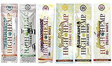 Organic Wraps - Tobacco Free, Vegan, Non-GMO! 6 Flavors to Choose from: Grape Ape, Honey Pot Swirl, Maui Mango, Original, ...