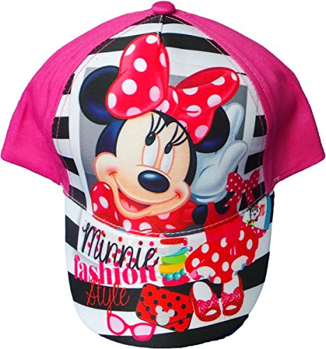 Disney Minnie Maus Cap - Minnie Fashion Style - Pink/Mehrfarbig