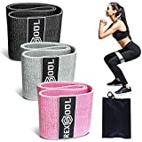 ◆【THE BEST CHOICE FOR PERFECT BODY】– RexSoul resistance bands can help you solve the problem of the body shape,exercise bands exalt the hip and modify the legs,shape a beautiful figure and relieve the pressure and fatigue effectively.The material for...