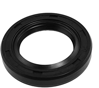 uxcell Spring Loaded Metric Rotary Shaft TC Oil Seal Double Lip 30x47x7mm