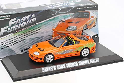 Greenlight Toyota Supra MK IV 1995 Fast and Furious Movie Car 1:43