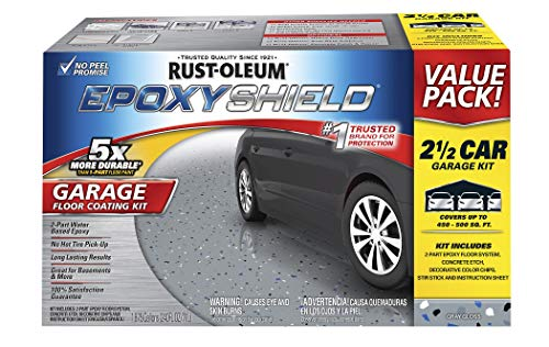 Rust-Oleum 261845 EpoxyShield  Garage Floor Coating , 2 gal, Gray