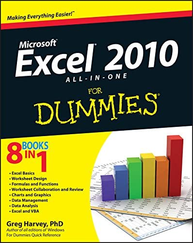 Excel 2010 All in One For Dummies product image