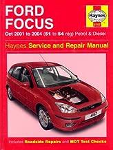 Ford Focus Petrol and Diesel: 2001-2004 (Haynes Service and Repair Manuals)