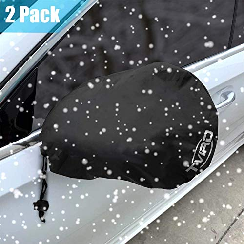 Tvird Side Mirror Cover, Snow and Ice Mirror Cover for Car 2 Packs, Frost- Resistant Waterproof Anti Bird Side View Mirror Cover ,Universal Size Fit for Cars SUV Trucks.