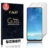 J&D Compatible para Galaxy A20e Protector de Pantalla, 4-Pack [Vidrio Templado] [NO Cobertura Completa] Cristal Templado Protector de Pantalla para Samsung Galaxy A20e