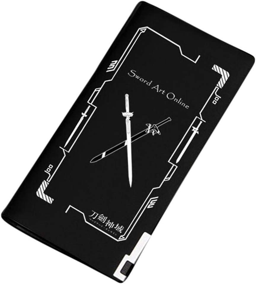 Gumstyle Sword Art Online Anime Artificial Leather Wallet Billfold Money Clip Bifold Card Holder 19