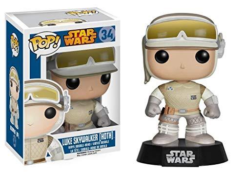 Star Wars- Figura de Vinilo Hoth Luke (Funko 4528)