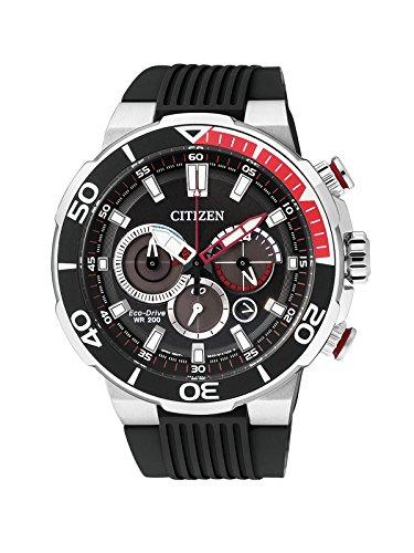 Citizen de Hombre Reloj de Pulsera Cronógrafo Cuarzo Caucho ca4250–03E