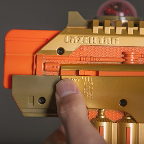 Strength and ammo indicator on the Nerf Phoenix LTX