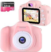 Kids Toys Children Digital Camera for 3-9 Year Old Boys Girls,NINE CUBE Kids Action Camera,Toddler Video Recorder 2 Inch 1...