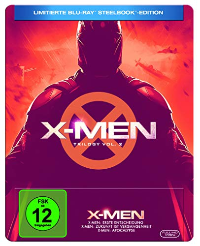 X-MEN TRILOGIE 4-6 (3-BD) STEELBOOK [Blu-ray] [Limited Edition]