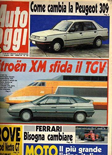 Auto Oggi n. 130 del 6 / 1989 Opel Vectra GT, BMW 520i Mercedes 200 E