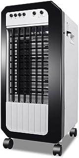 WENYAO Enfriador móvil/Hogar Ventilador de Aire Acondicionado de enfriamiento Simple/Calefacción Ventilador de Doble Uso 7.2L Caja de Agua Grande (25 * 33 * 58 cm), simple1