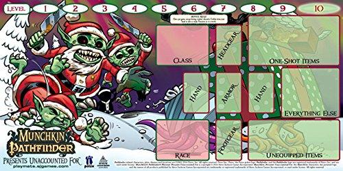 Steve Jackson Games SJG05613 Munchkin Playmat: Pathfinder unaccounted for, Mehrfarbig