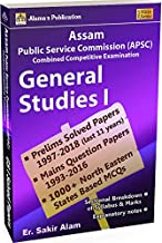APSC CCE General Studies I Paper 1 Question Bank for ACS/ APS 2020(english)