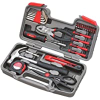 39-Piece Apollo Tools DT9706 Repair Hand Tool Set with Storage Case