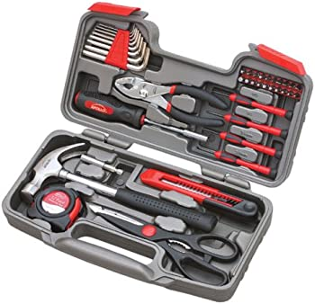 39-Piece Apollo Tools Repair Hand Tool Set with Storage Case