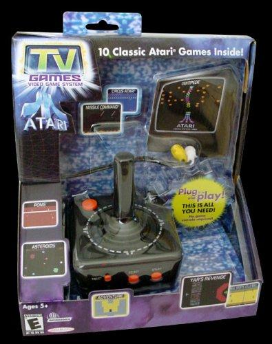 Atari TV Game Stick + 10 Classic Games