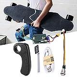 Contrôleur ESC de planche à roulettes, contrôleur unique de contrôleur principal d'entraînement de contrôleur de planche à roulettes électrique de longboard avec le contrôleur à distance de skateboard