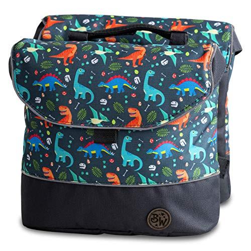 BambinIWelt Gepäcktasche, Gepäckträgertasche für Fahrrad, Fahrradtasche für...