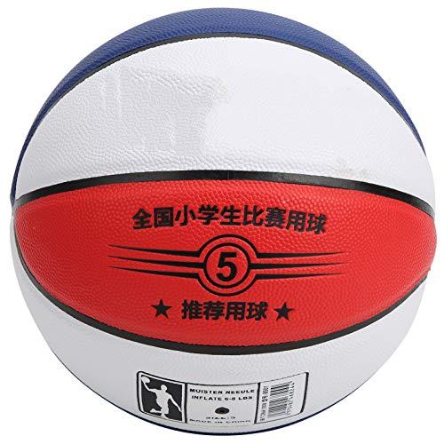 Bnineteenteam Baloncesto tamaño 5, Equipo de Entrenamiento de Pelota Multicolor de Baloncesto Deportivo de Cuero de PU