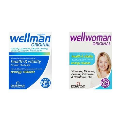 Wellman Original - 30 Tablets and Wellwoman Original - 30 Tablets Bundle