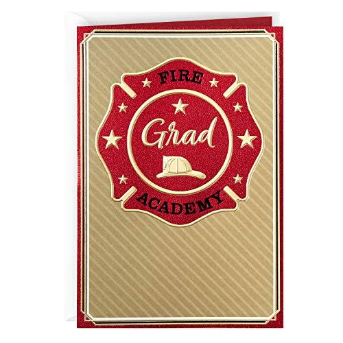 Hallmark Fire Academy Graduation Card (Congratulations)