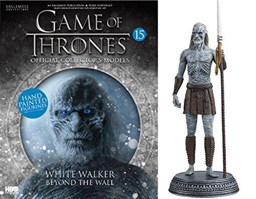 HBO - Figura de Resina Juego de Tronos. Game of Thrones Collection Nº 15 White Walker