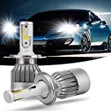 Autofasters® C6 6500K LED Headlight Conversion Bulb (Set of 2) for All Cars