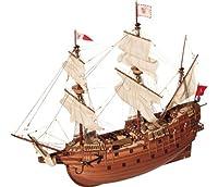 帆船模型キット サンマルタン (60分の帆船模型製作入門DVD及び和訳付き)