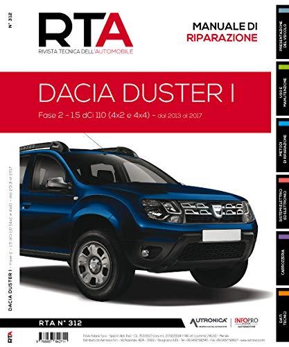 Dacia Duster I. Fase 2 - 1.5 DCI 110 (4x2 e 4x4) dal 2013 al 2017 (Rivista tecnica dell'automobile)