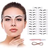 Eyebrow Stencil,23 Fashionable Styles Eyebrow Shaper Kit for Women Reusable Eyebrow Template 3 Minutes Makeup Tools for Eyebrows